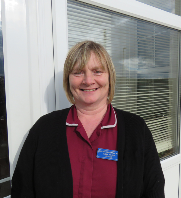 Best Care Home In Bude  - Eventide - Manager Debbie Gardiner